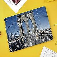 NEW iPad Air 3(第三世代) 10.5 2019 / iPad Pro 10.5 2017ケース 対応モデル:A2152 / A2123 / A2153 / A2154 / A1701 / A1709 / A1852ゴシックブルックリン橋ニューヨーク市有名な都市アメリカアメリカ風景
