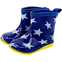 GudeHome 子供用 レインブーツ 女の子 男の子 レインシューズ キッズ 雨靴 可愛い長靴 軽量 安全 乳児 幼児 小学生