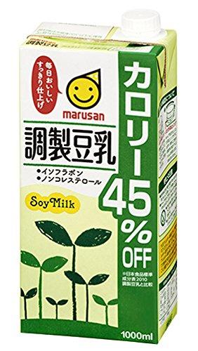 豆乳はスーパーで買える低カロリーダイエット食品