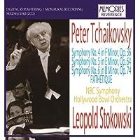 レオポルド・ストコフスキ指揮 チャイコフスキー:後期三大交響曲集
