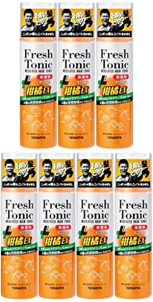 トリッキーも家庭【まとめ買い】柳屋 薬用育毛 フレッシュトニック 柑橘EX 無香料 190g×7個