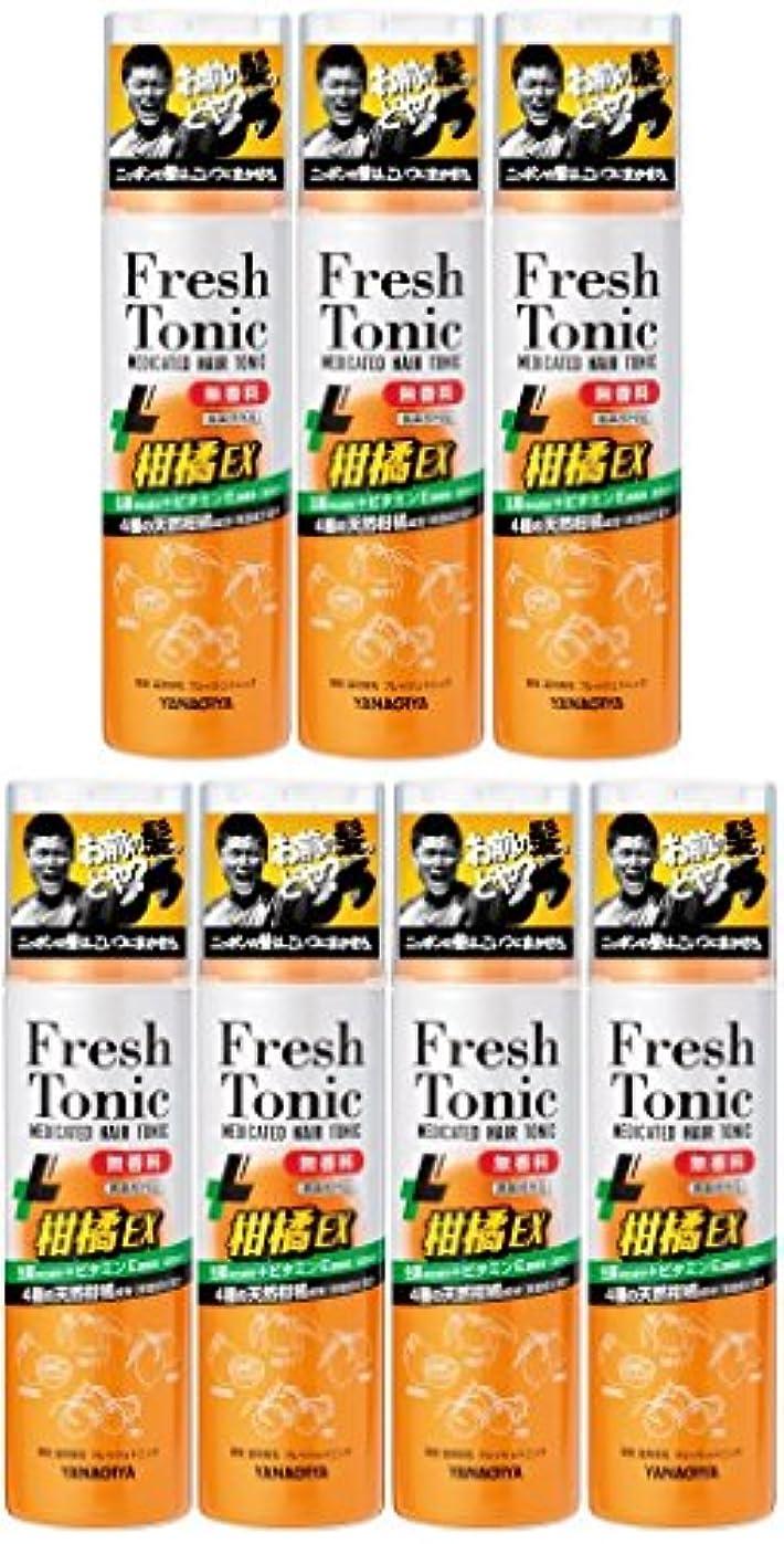 その結果ピッチャーベルベット【まとめ買い】柳屋 薬用育毛 フレッシュトニック 柑橘EX 無香料 190g×7個