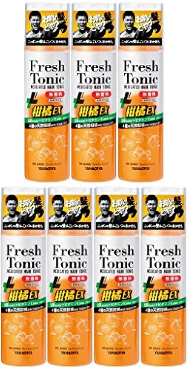 涙壊す電圧【まとめ買い】柳屋 薬用育毛 フレッシュトニック 柑橘EX 無香料 190g×7個