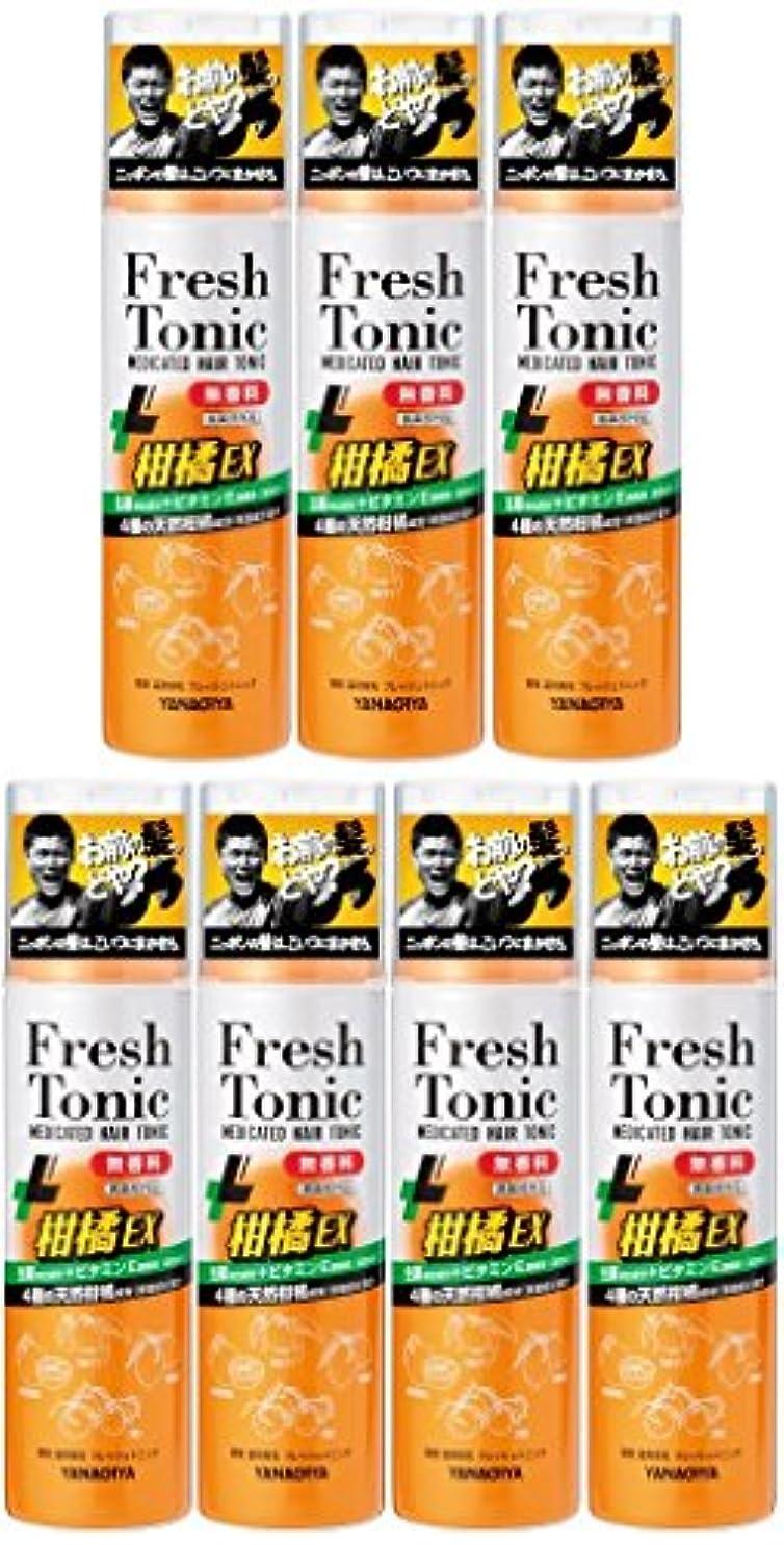 顎スキニー勉強する【まとめ買い】柳屋 薬用育毛 フレッシュトニック 柑橘EX 無香料 190g×7個