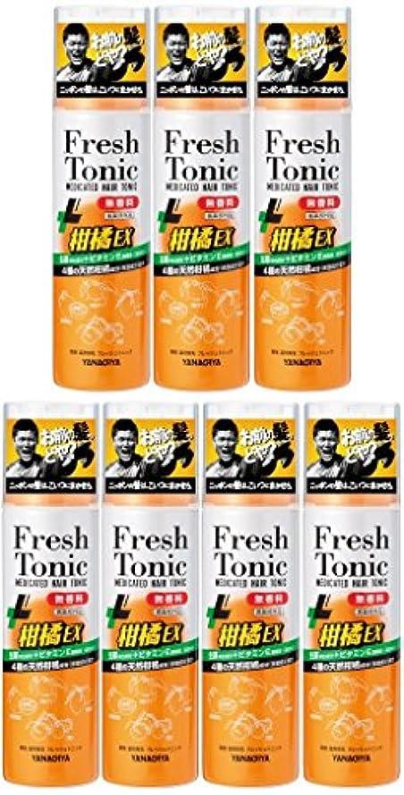 ブラスト人生を作る励起【まとめ買い】柳屋 薬用育毛 フレッシュトニック 柑橘EX 無香料 190g×7個