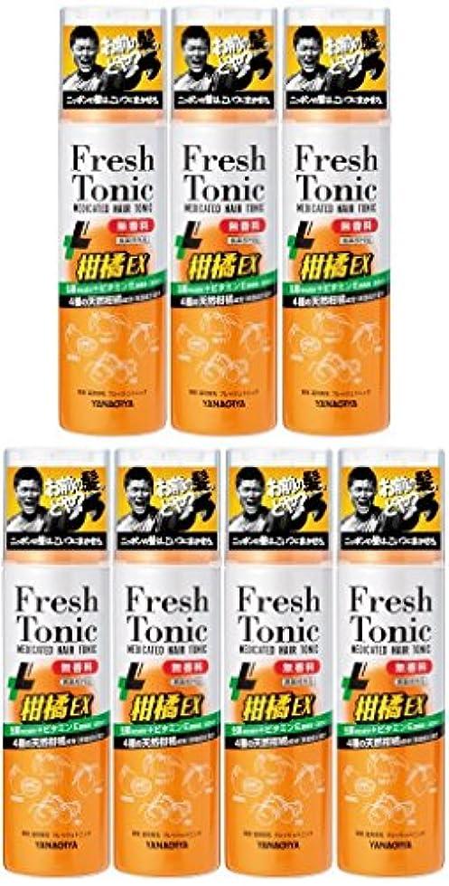 それる撤回する憂鬱な【まとめ買い】柳屋 薬用育毛 フレッシュトニック 柑橘EX 無香料 190g×7個