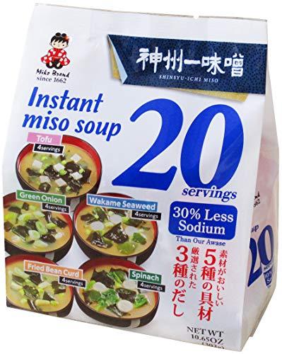 神州一味噌 お徳用20食 減塩 20食