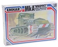 EmharモデルBritish Medium A Whippetタンク車モデル構築キット