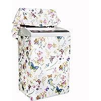 Konomise 洗濯機カバー 防水 防日焼け 防塵 屋外 外置 (M)