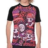 ベビーメタル Baby-metal 野球 Tシャツ 半袖 メンズ オシャレ ファッション スポーツ 個性的 スポーツ アウトドア 丸首 吸汗速乾 伸縮性 通気性
