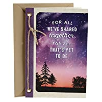Hallmark Love Greeting Card (You Mean the World to Me Starry Sky) [並行輸入品]