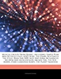 Articles on Musical Groups from Quebec, Including: Simple Plan, Men Without Hats, April Wine, the Dears, Bootsauce, the Stills, Bran Van 3000, Kate an