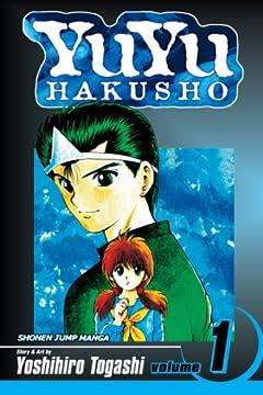 YuYu Hakusho, Vol. 1: Goodbye, Material World!の書影