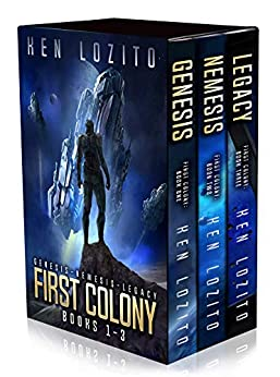 First Colony: Books 1 - 3 by [Lozito, Ken]