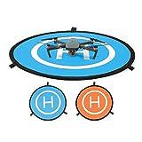 DJI ドローン Mavic Pro (マビックプロ)/Parrot bebop /Phantom3/4など用クイック折畳み式 75cmランデングパッド ヘリポート