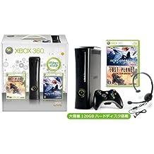 Xbox 360 エリート (120GB) バリューパック (「エースコンバット6 解放への戦火」&「ロスト プラネット コロニーズ」同梱) 【期間限定生産】【メーカー生産終了】