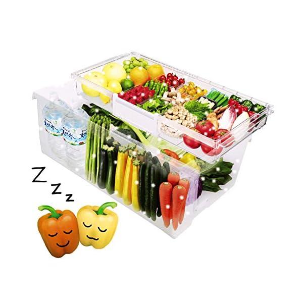 日立 冷蔵庫 501L 5ドア クリスタルシャ...の紹介画像6