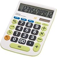 ナカバヤシ 電卓 12桁 大型キー M 税計算機能付 ECD-8502G