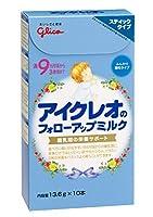 アイクレオ フォローアップミルク スティックタイプ 13.6g×10P ×9セット