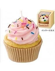 カメヤマキャンドル(kameyama candle) アメリカンカップケーキキャンドル 「 ストロベリークリーム 」