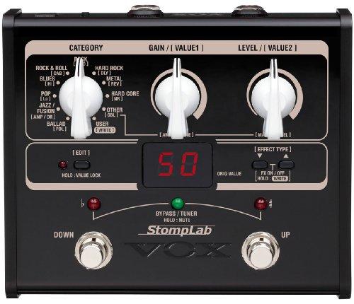 VOX ヴォックス ギター用・コンパクト・マルチエフェクター StompLab SL1G