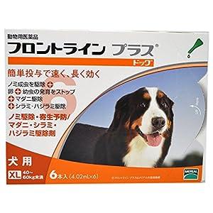 メリアル フロントライン プラス ドッグ XL (40kg~60kg) 6ピペット (動物用医薬品)