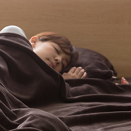 枕カバー mofua プレミアムマイクロファイバー とろけるような肌触り 洗える 静電気防止 ピロ―ケース 高密度 品質保証書付き 43×90cm ダークブラウン