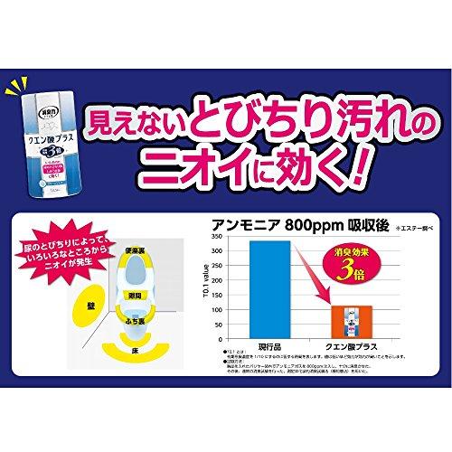 消臭力 トイレの消臭力 クエン酸プラス クリーンソープ 400ml