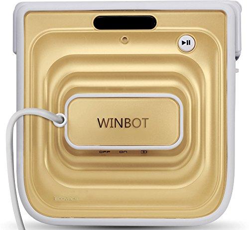 ECOVACS ガラスロボットクリーナー 窓用お掃除ロボット WINBOT シャンパンゴールド 国内正規品 W710