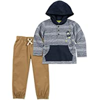 Kids Headquarters Baby Boys 2 Pieces Hoody Pant Set