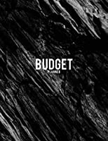 Budget Planner: Weekly Bill Payment Checklist, Account, Saving & Debt Tracker. Money Management Workbook Journal With Black Rock Charcol Cover