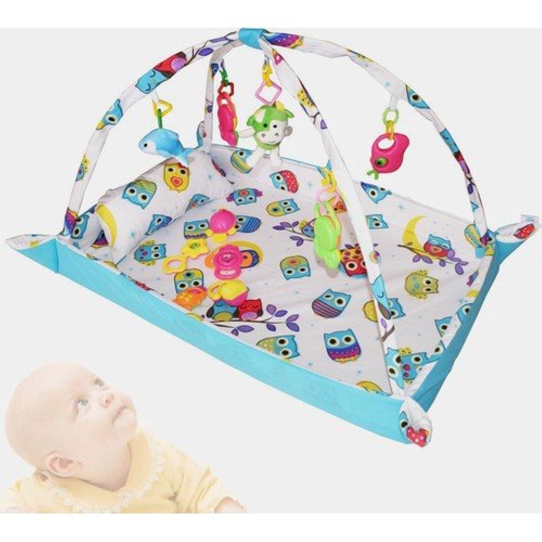 Serraベビー100 %コットン赤ちゃんゲームカーペットと子子