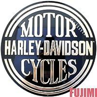 ノーブランド品 HARLEY-DAVIDSON MOTOR CYCLES レトロ看板 1枚 [並行輸入品]