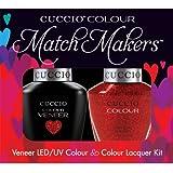 Cuccio MatchMakers Veneer & Lacquer - Manhattan Mayhem - 0.43oz/13ml Each