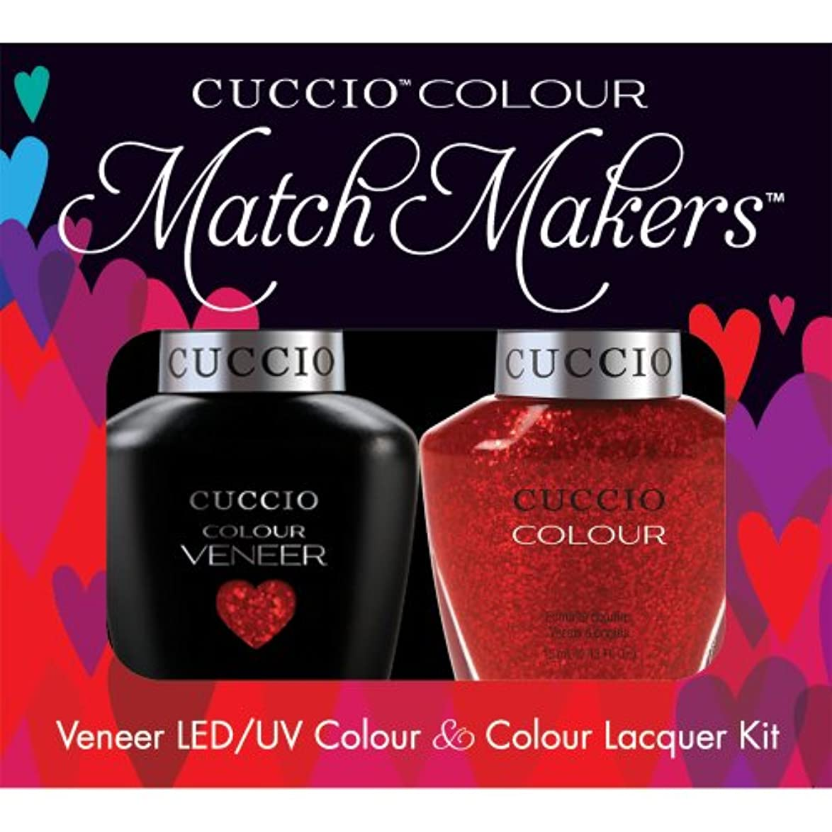 デコラティブ聖なるルネッサンスCuccio MatchMakers Veneer & Lacquer - Manhattan Mayhem - 0.43oz/13ml Each