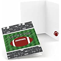 End Zone – Football – ベビーシャワーまたは誕生日PARTY Thank Youカード – セットof 24