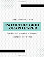 Isometric Grid Graph Paper: Isometric Paper 8.5x11