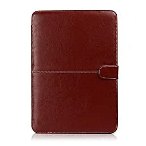 Termichy Slim Fit Notebook Bag for Macbook Pro 13.3 Inch, Light Weight Pu Leather Sleeve with All Cable Access by Termichy [並行輸入品]