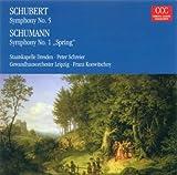 Franz Schubert.: Symphony No. 5 / Robert Schumann: Symphony No. 1 (Schreier Konwitschny)