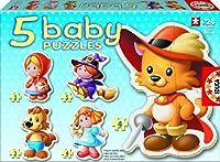 Educa 5 Baby Puzzles Fairy Tales by Educa [並行輸入品]