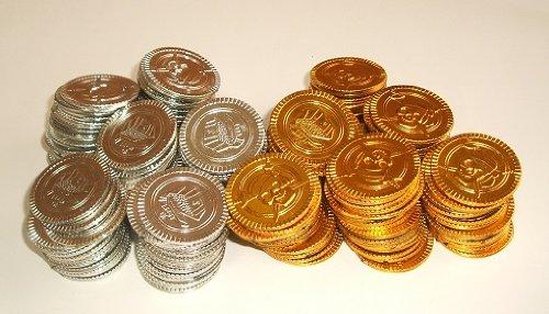 金・銀コイン 200枚セット 直径34mm