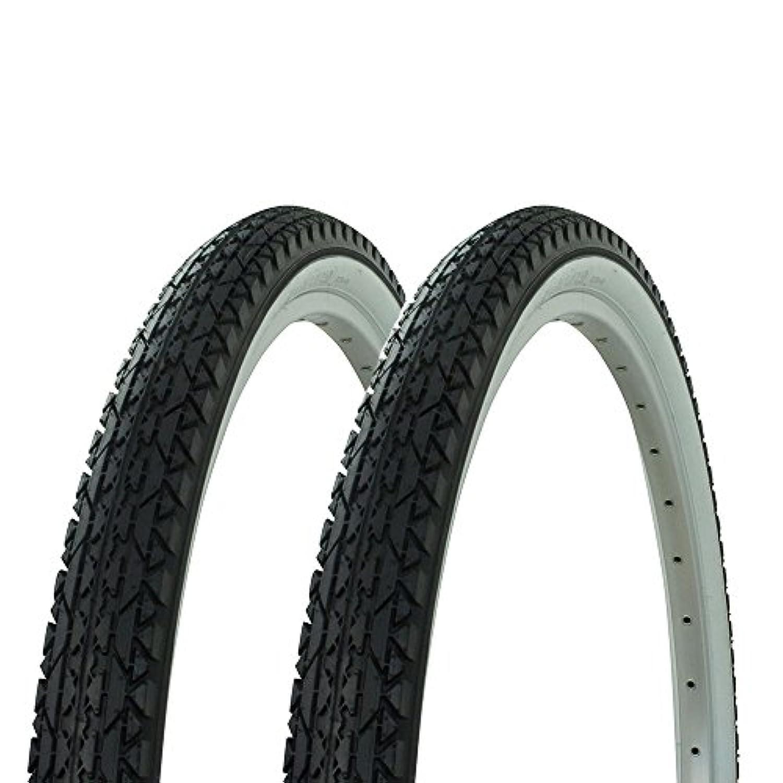 Fenix 1ペア ワンダ ダイヤモンド トレッド タイヤ ホワイト 壁 26 x 2.125 ビーチクルーザーバイク用