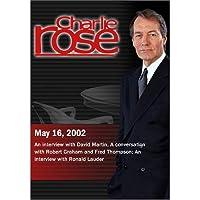 Charlie Rose (May 16, 2002) [並行輸入品]