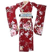 Baosity 12インチブライス用 ファッション 人形着物 美しい 人形 服 綿 着物 和服  ドールドレス 2色選べる - #2