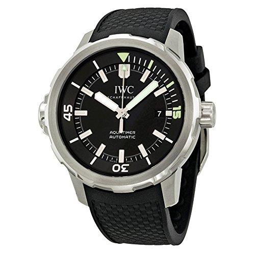 【アイダブリュシー】 IWC 腕時計 アクアタイマー オートマティック SS×ラバー ブラック IW329001 メンズ 【並行輸入品】