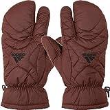 adidas(アディダス) CORE ウォームペアミトン (BCV46) メンズ ゴルフ 手袋 両手用 ハンドウォーマー レッド Fメンズ(フリー)