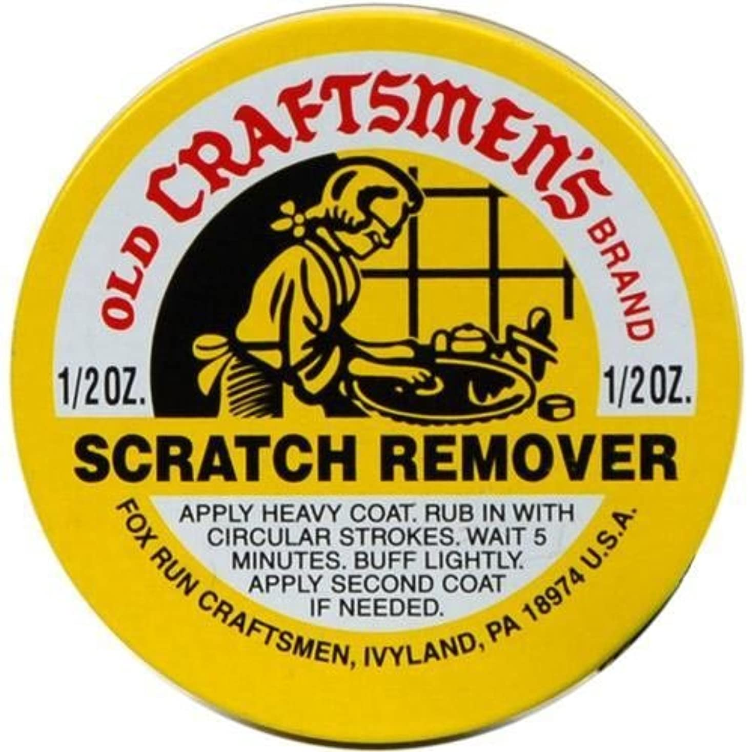 窓を洗うスツール誠実Fox Run 41641 オンス スズ 古い 職人さん ブランド スクラッチ 剥離剤 痛ん 木材 革