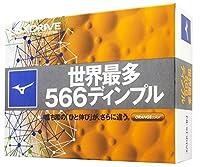 MIZUNO(ミズノ) ゴルフ ゴルフボール NEXDRIVE ネクスドライブ 1ダース(12個入り) 5NJBM32840 オレンジ 2ピース