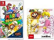 スーパーマリオ 3Dワールド + フューリーワールド -Switch +amiiboダブルセット [ネコマリオ/ネコピーチ](スーパーマリオシリーズ) (【Amazon.co.jp限定】スマホリング 同梱)