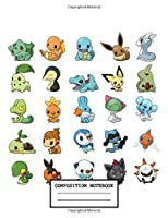 Composition Notebook: Cute Kawaii Pokemon Composition Notebook, Soft Glossy Wide Ruled Journal with lined Paper for Taking Notes, Writing Workbook for Teens & Children, ... School. inexpensive gift for pokemon lovers